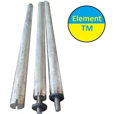 Magnesium anode for work in a boiler (Galmet) f-21L400m8nerzh with laying