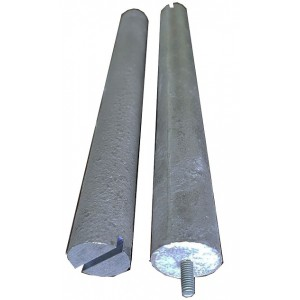 Magnesium anode f16 m8 L200 TW for work in a boiler Italy