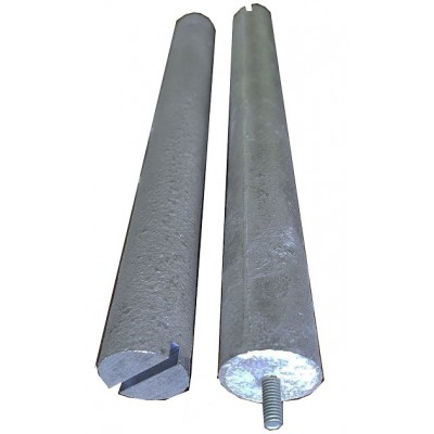 Magnesium anode f18 m4 kor TW for work in a boiler Italy