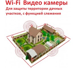 PTZ Wi-Fi Cameras with tracking, security, and alarm functions (1)
