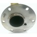 Flange flask for Atlantic boiler under dry steatite, ceramic ten